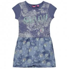 Pampolina 6764168-3074 Sukienka kolor niebieski