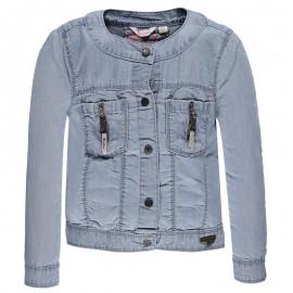 Pampolina 6764109-0014 Kurtka jeans kolor niebieski
