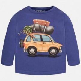 Mayoral 2025-10 Koszulka d/r samochód kolor Nieb jeans