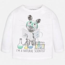"Mayoral 2033-46 Koszulka d/r ""scientist"" kolor Biały"