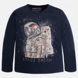"Mayoral 4013-43 Koszulka d/r ""space dream"" kolor Tytan"
