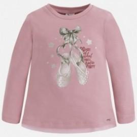 Mayoral 4061-73 Koszulka d/r baletki kolor Jasny róż.