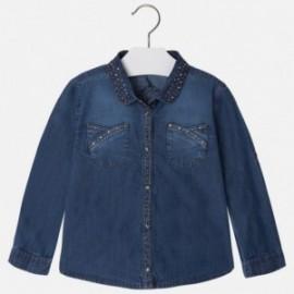 Mayoral 4125-5 Bluzka jeans dżety kolor Jeans