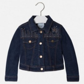 Mayoral 4410-32 Kurtka jeans ocieplona kolor Ciemny