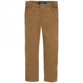 Mayoral 4525-46 Spodnie ocieplane orzech