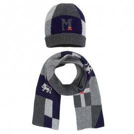 Mayoral komplet 10822-35 czapka i szalik szary