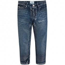 Mayoral 4553-5 Spodnie jeans fantazja lureks Jeans