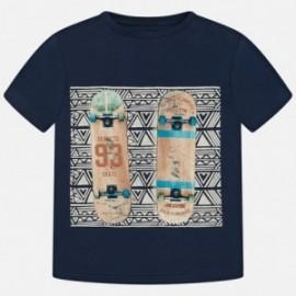 """Mayoral 6037-51 Koszulka k/r """"skateboard"""" kolor Atlantyk"""