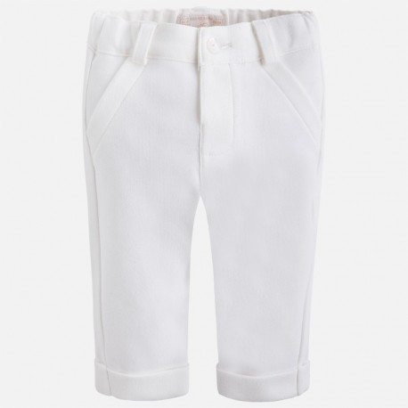 Mayoral 2525-40 Spodnie długie kolor Kremowy