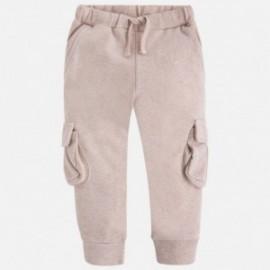 Mayoral 4549-50 Spodnie długie plusz kolor Brąz