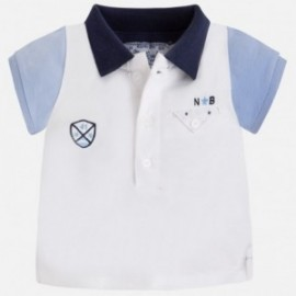 Mayoral 1111-62 Koszulka polo krót.rękaw kolor Indygo