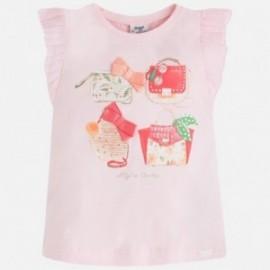 Mayoral 3057-13 Koszulka k/r torby kolor Różowy