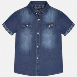 Mayoral 6129-69 Koszula k/r jeans kolor Basic