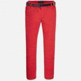 Mayoral 6503-29 Spodnie klasyczne z paskiem kolor Hibiskus