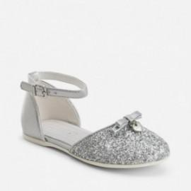 Mayoral 43767-72 boty barva stříbro