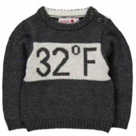 Boboli 344001_8070 sweter kolor szary