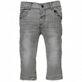Boboli 394028_GREY spodnie kolor szary