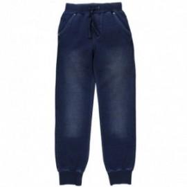 Boboli 504122_BLUE spodnie kolor granat