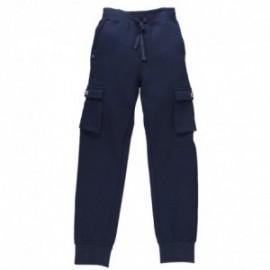 Boboli 594097_2440 spodnie kolor granat