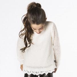 Boboli 474106_1111 sweter kolor krem