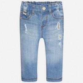 Mayoral 2581-81 Spodnie długie porwane kolor Jasny