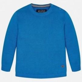 Mayoral 303-68 bavlna svetr barva modrý