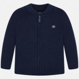 Mayoral 305-30 sweter trykot bawełna kolor Granatowy