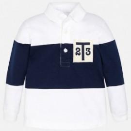 Mayoral 1147-27 Koszulka polo dł.rękaw kolor Biały