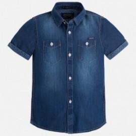 Mayoral 3145-45 Koszula k/r jeans kolor Basic