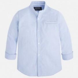 Mayoral 3159-82 Koszula d/r stójka kolor Błękitny