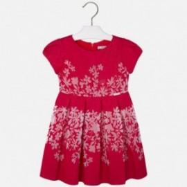Mayoral 3937-56 Sukienka kwiatki kolor Arbuzowy
