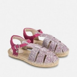 Mayoral 43799-81 Espadryle typu sandały kolor Fuksja