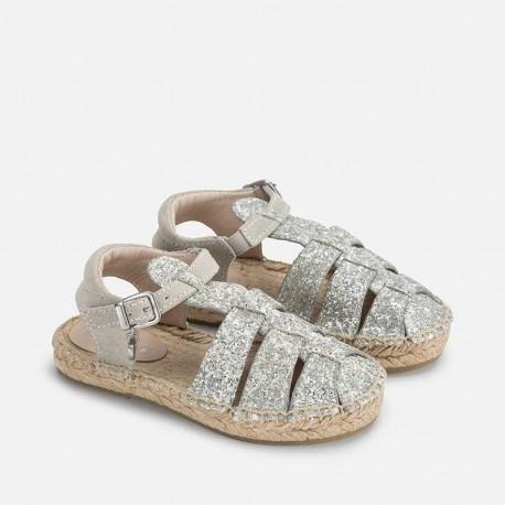 Mayoral 43799-82 Espadryle typu sandały kolor Biał.złam.
