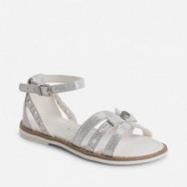 Mayoral 45775-72 Sandały kolor Srebrny