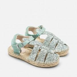 Mayoral 45799-80 Espadryle typu sandały kolor Błękitny