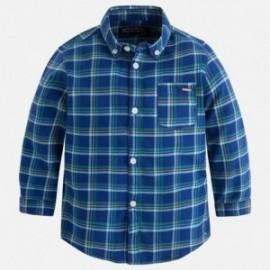 Mayoral 4151-20 Koszula d/r krata kolor śliwka