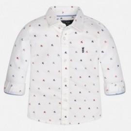 Mayoral 2143-91 Koszula d/r wzory kolor Biały