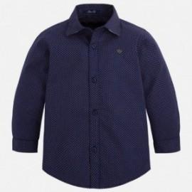 Mayoral 4137-11 Koszula d/r wzory kolor Bł.pruski