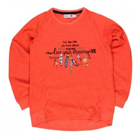 Boboli 444079-3546 bluzka kolor czerwony