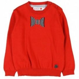 Boboli 714079-3545 sweter kolor czerwony