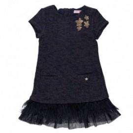 Boboli 724081-2440 sukienka kolor granat