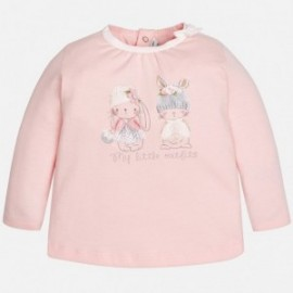 Mayoral 2039-91 Koszulka d/r króliczki kolor Różowy