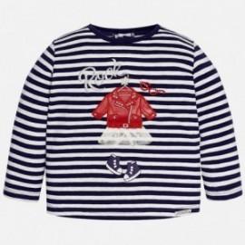 Mayoral 2053-89 Koszulka d/r rockowy look kolor Granatowy