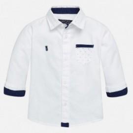 Mayoral 2145-76 Koszula d/r gładka wizytowa kolor Biały