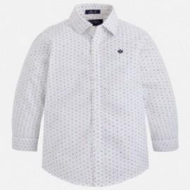Mayoral 4137-10 Koszula d/r wzory kolor Biały