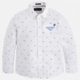 Mayoral 4145-88 Koszula d/r wzory kolor Biały