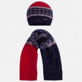 Mayoral 10258-24 Komplet czapka szalik kolor Jagoda