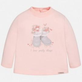 Mayoral 2047-63 Koszulka d/r buty kolor Różowy
