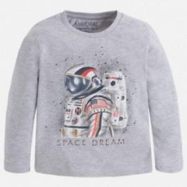 "Mayoral 4013-46 Koszulka d/r ""space dream"" kolor Szary"