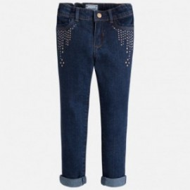 Mayoral 4543-73 Spodnie jeans cwieki kolor Ciemny